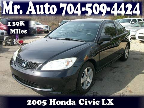 2005 Honda Civic for sale at Mr Auto Sales in Charlotte NC