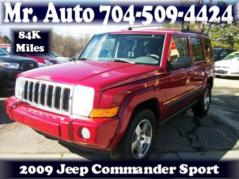 2009 Jeep Commander for sale at Mr Auto Sales in Charlotte NC