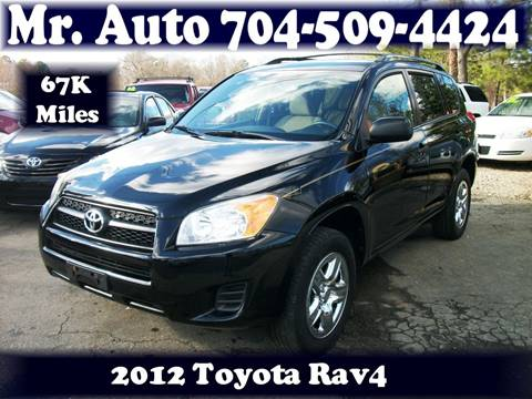 2012 Toyota RAV4 for sale at Mr Auto Sales in Charlotte NC