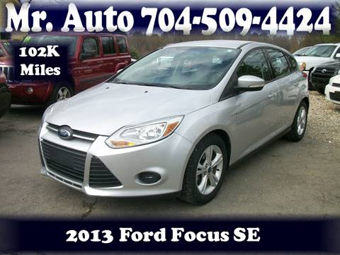 2013 Ford Focus for sale at Mr Auto Sales in Charlotte NC