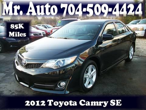 2012 Toyota Camry for sale at Mr Auto Sales in Charlotte NC