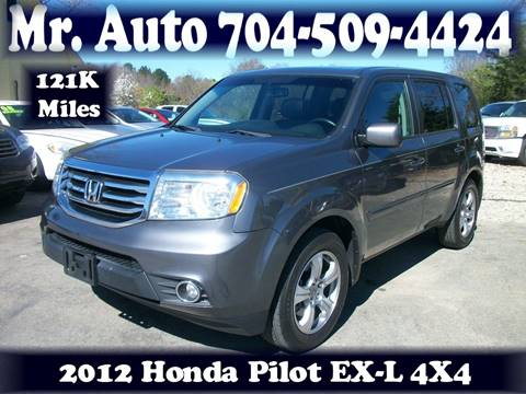 2012 Honda Pilot for sale at Mr Auto Sales in Charlotte NC