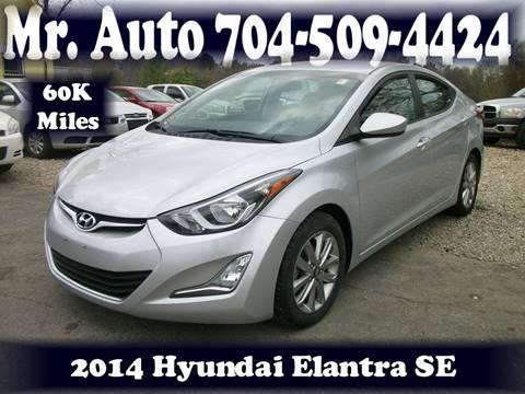2014 Hyundai Elantra for sale at Mr Auto Sales in Charlotte NC