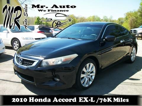 2010 Honda Accord for sale at Mr Auto Sales in Charlotte NC