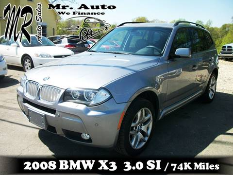 2008 BMW X3 for sale at Mr Auto Sales in Charlotte NC
