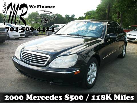 2000 Mercedes-Benz S-Class for sale at Mr Auto Sales in Charlotte NC
