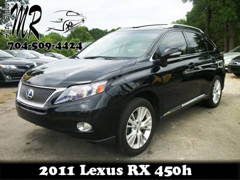 2011 Lexus RX 450h for sale at Mr Auto Sales in Charlotte NC