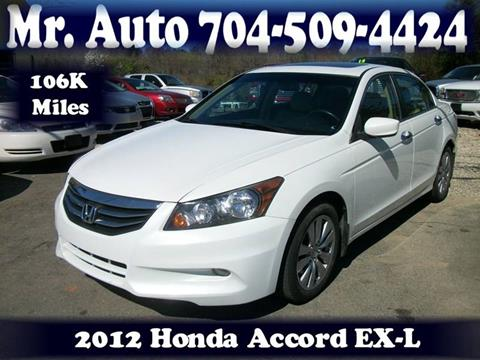 2012 Honda Accord for sale at Mr Auto Sales in Charlotte NC