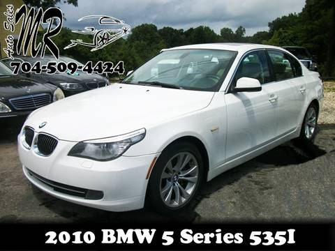 2010 BMW 5 Series for sale at Mr Auto Sales in Charlotte NC