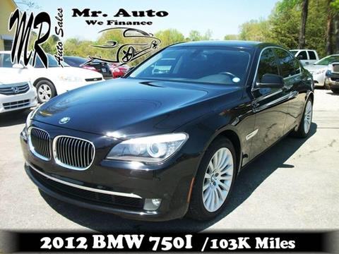 2012 BMW 7 Series for sale at Mr Auto Sales in Charlotte NC