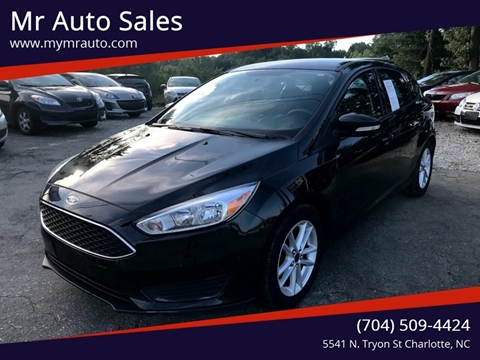 Used Cars Charlotte Nc >> 2015 Ford Focus For Sale In Charlotte Nc