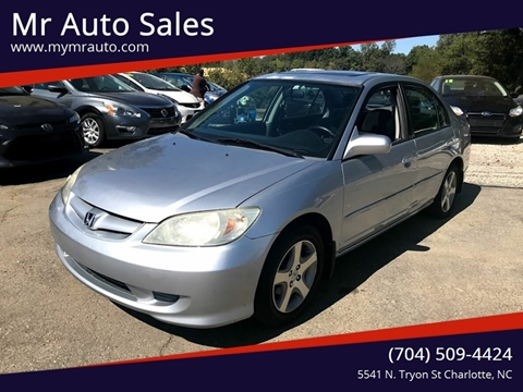2005 Honda Civic for sale in Charlotte, NC