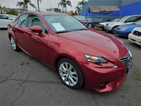 2014 Lexus IS 250 for sale in South Gate, CA