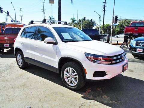 2015 Volkswagen Tiguan for sale in South Gate, CA