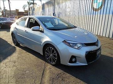 2016 Toyota Corolla for sale in South Gate, CA