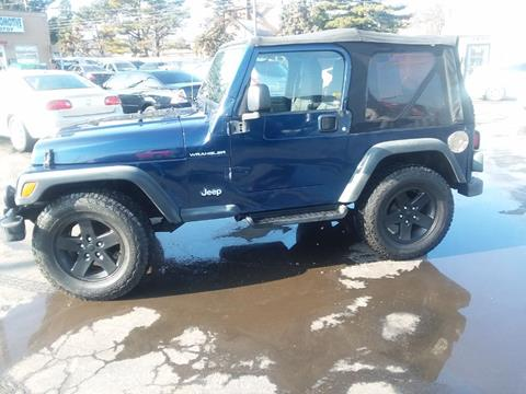 2003 Jeep Wrangler for sale in Indianapolis, IN
