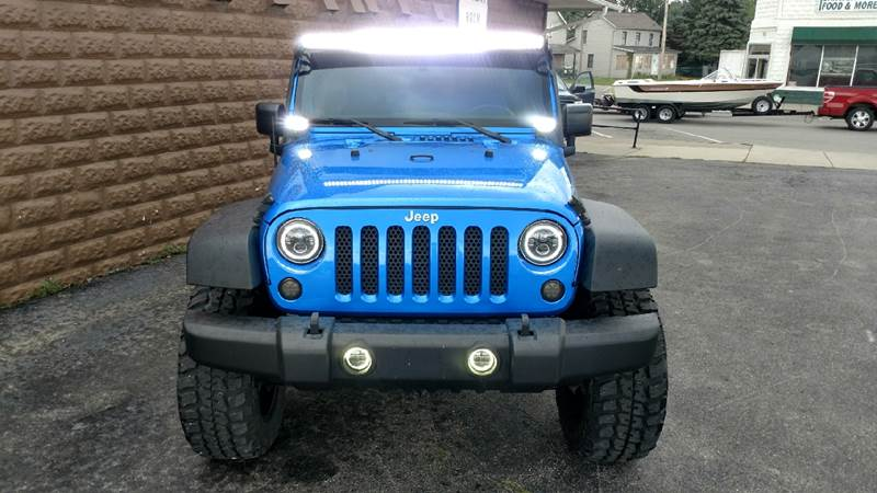 2015 Jeep Wrangler Unlimited 4x4 Sport 4dr SUV - Ashley OH