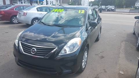 2012 Nissan Versa for sale at TC Auto Repair and Sales Inc in Abington MA