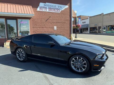 2011 Ford Mustang for sale at Middle Tennessee Auto Brokers LLC in Gallatin TN