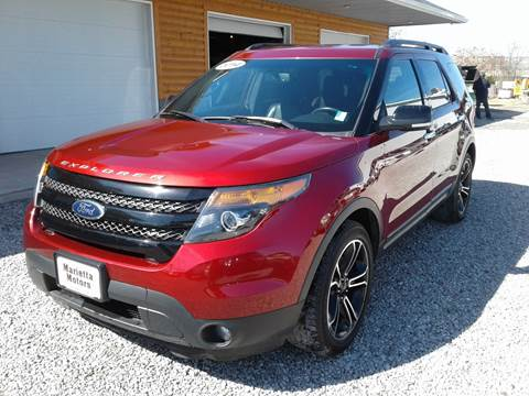 2014 Ford Explorer for sale at MARIETTA MOTORS LLC in Marietta OH