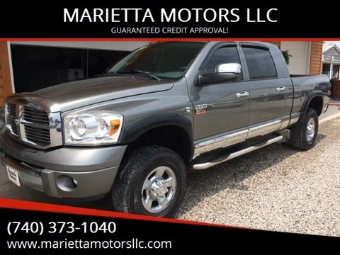 2007 Dodge Ram Pickup 3500 for sale at MARIETTA MOTORS LLC in Marietta OH