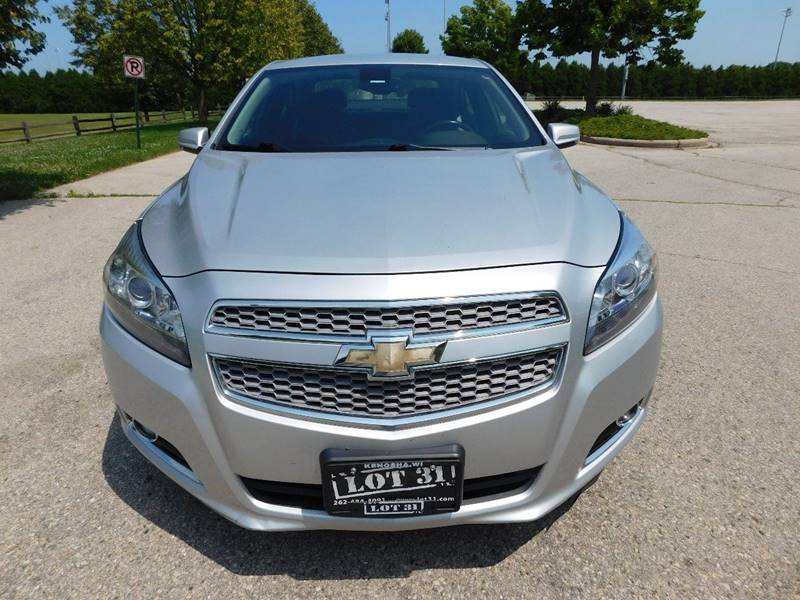 2013 Chevrolet Malibu LTZ 4dr Sedan w/1LZ In Kenosha WI - Lot 31