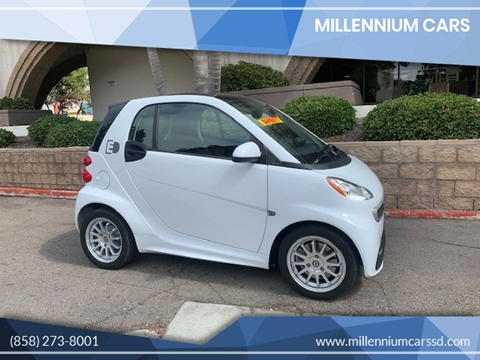2013 Smart fortwo electric drive for sale in San Diego, CA