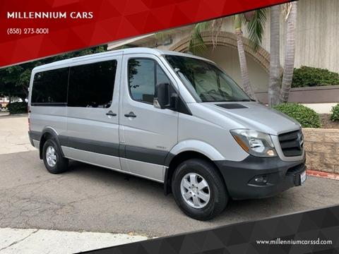 18 Passenger Van >> 2015 Mercedes Benz Sprinter Passenger For Sale In San Diego Ca
