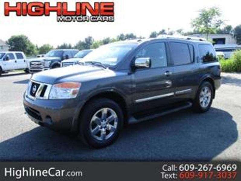 2011 Nissan Armada For Sale At Highline Motor Cars In Southampton NJ
