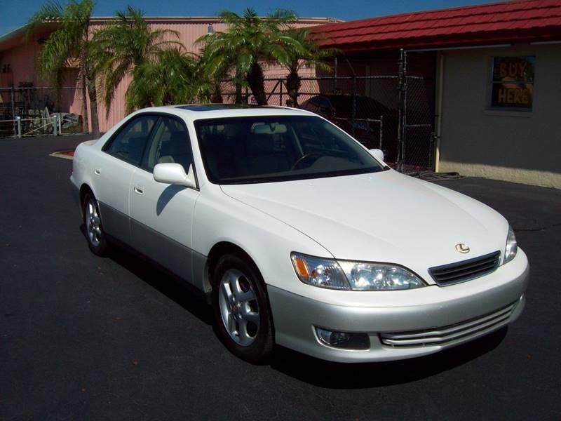 2001 Lexus ES 300 4dr Sedan   Fort Myers FL