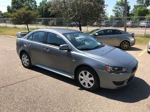 2012 Mitsubishi Lancer for sale at GLOBAL AUTO USA in Saint Paul MN