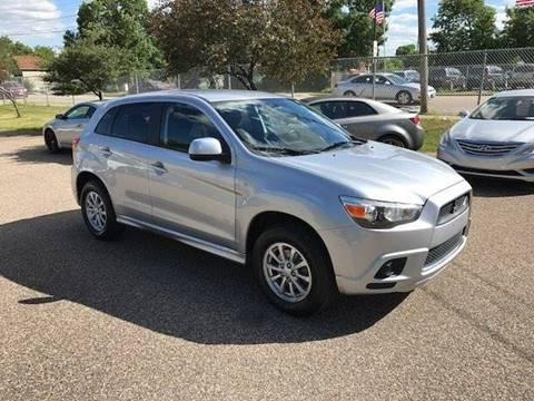 2012 Mitsubishi Outlander Sport for sale at GLOBAL AUTO USA in Saint Paul MN