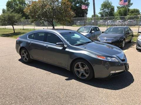 2009 Acura TL for sale at GLOBAL AUTO USA in Saint Paul MN