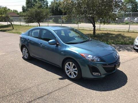 2011 Mazda MAZDA3 for sale at GLOBAL AUTO USA in Saint Paul MN