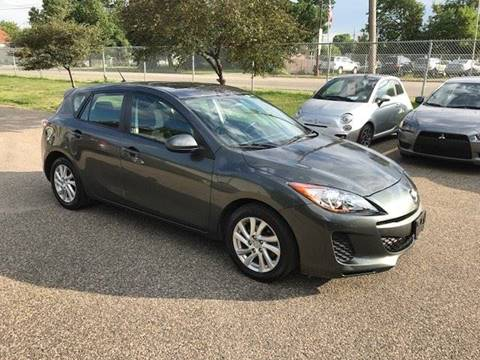 2012 Mazda MAZDA3 for sale at GLOBAL AUTO USA in Saint Paul MN