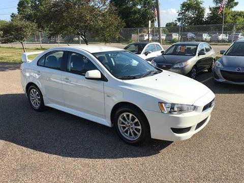 2010 Mitsubishi Lancer for sale at GLOBAL AUTO USA in Saint Paul MN
