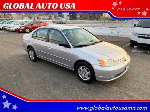 2002 Honda Civic for sale in Saint Paul, MN