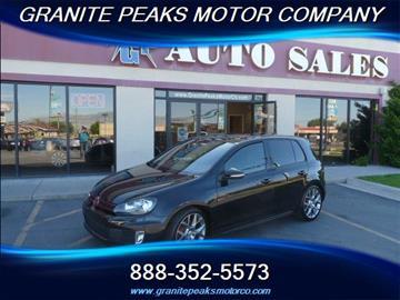 2013 Volkswagen GTI for sale in Pleasant Grove, UT