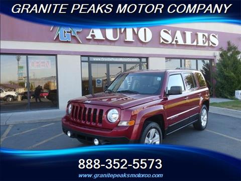 2013 Jeep Patriot for sale in Pleasant Grove, UT