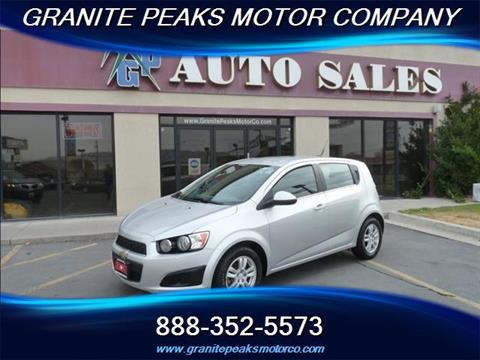 Chevrolet sonic for sale in pleasant grove ut for Grove motors in pleasant grove
