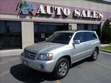 2007 Toyota Highlander for sale in Pleasant Grove, UT