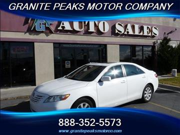 2007 Toyota Camry for sale in Pleasant Grove, UT