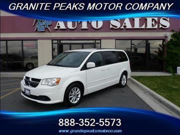 2013 Dodge Grand Caravan for sale in Pleasant Grove, UT