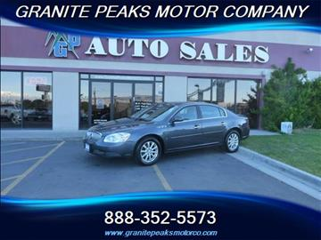 2009 Buick Lucerne for sale in Pleasant Grove, UT