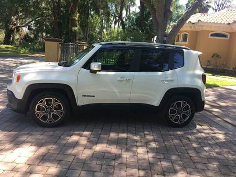 2017 Jeep Renegade for sale at CYBER CAR STORE in Tampa FL