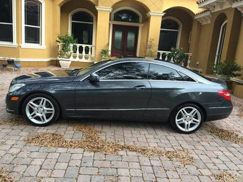 2011 Mercedes-Benz E-Class for sale in Tampa, FL
