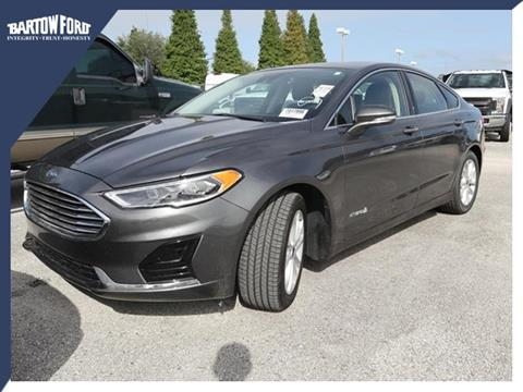 2019 Ford Fusion Hybrid for sale in Bartow, FL