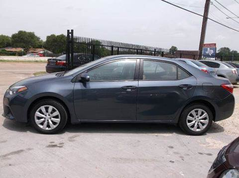 2014 Toyota Corolla for sale at N & A Metro Motors in Dallas TX