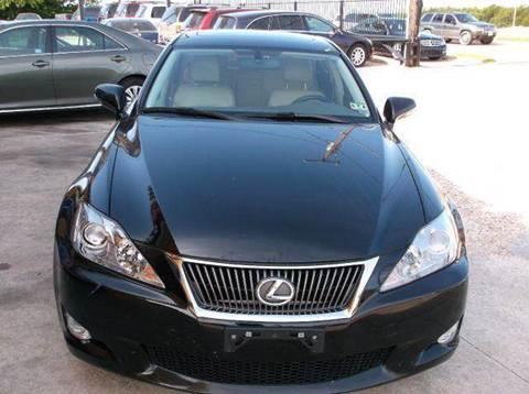 2009 Lexus IS 250 for sale at N & A Metro Motors in Dallas TX