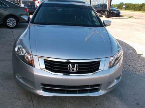 2008 Honda Accord for sale at N & A Metro Motors in Dallas TX